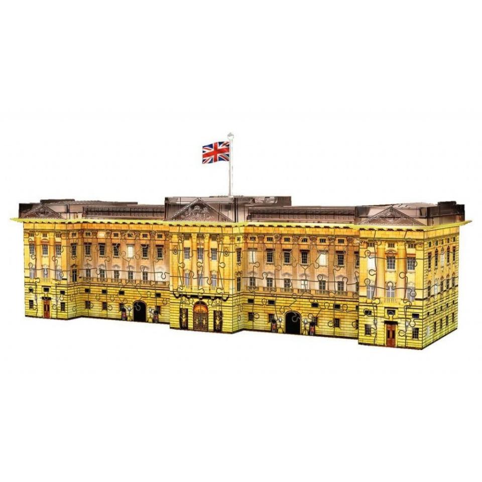 Obrázek 1 produktu Ravensburger 12529 Puzzle 3D Buckinghamský palác Noční Edice, 216 dílků