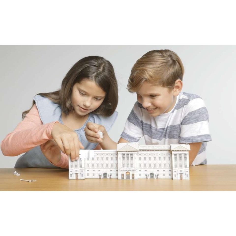 Obrázek 2 produktu Ravensburger 12529 Puzzle 3D Buckinghamský palác Noční Edice, 216 dílků