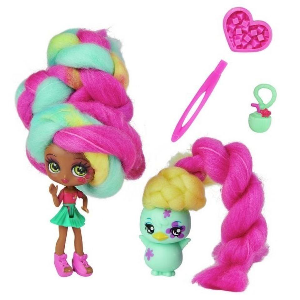 Obrázek 1 produktu CANDYLOCKS Voňavá panenka se zvířátkem Tropical Coco a Chi chi chick