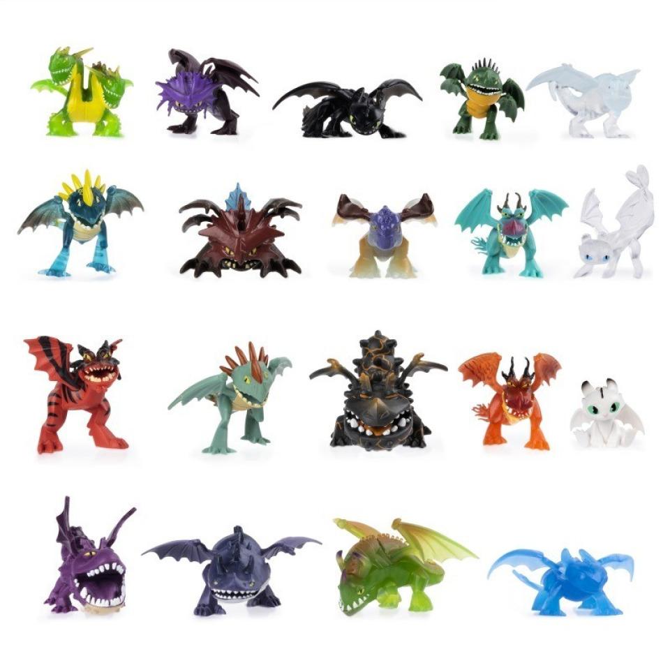 Obrázek 1 produktu Draci - Sběratelské figurky v sáčku různé druhy