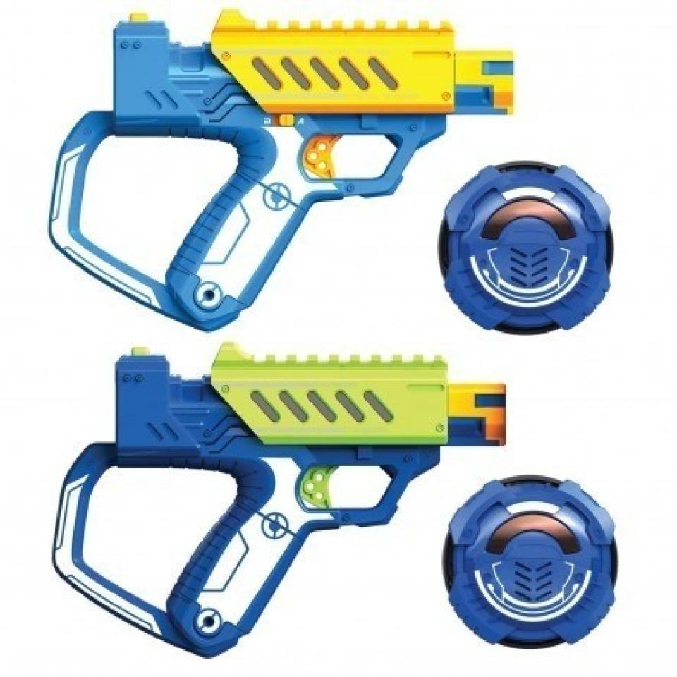 Obrázek 1 produktu Silverit Sada dvou pistolí Laser M.A.D. Battle Ops
