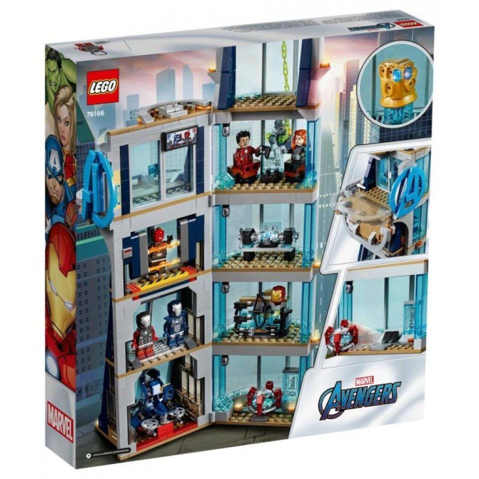 Obrázek 1 produktu LEGO SUPER HEROES 76166 Boj ve věži Avengerů