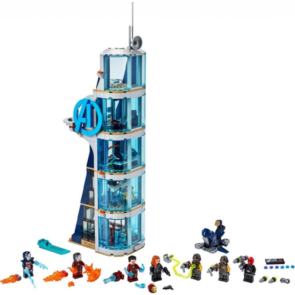 Obrázek 2 produktu LEGO SUPER HEROES 76166 Boj ve věži Avengerů