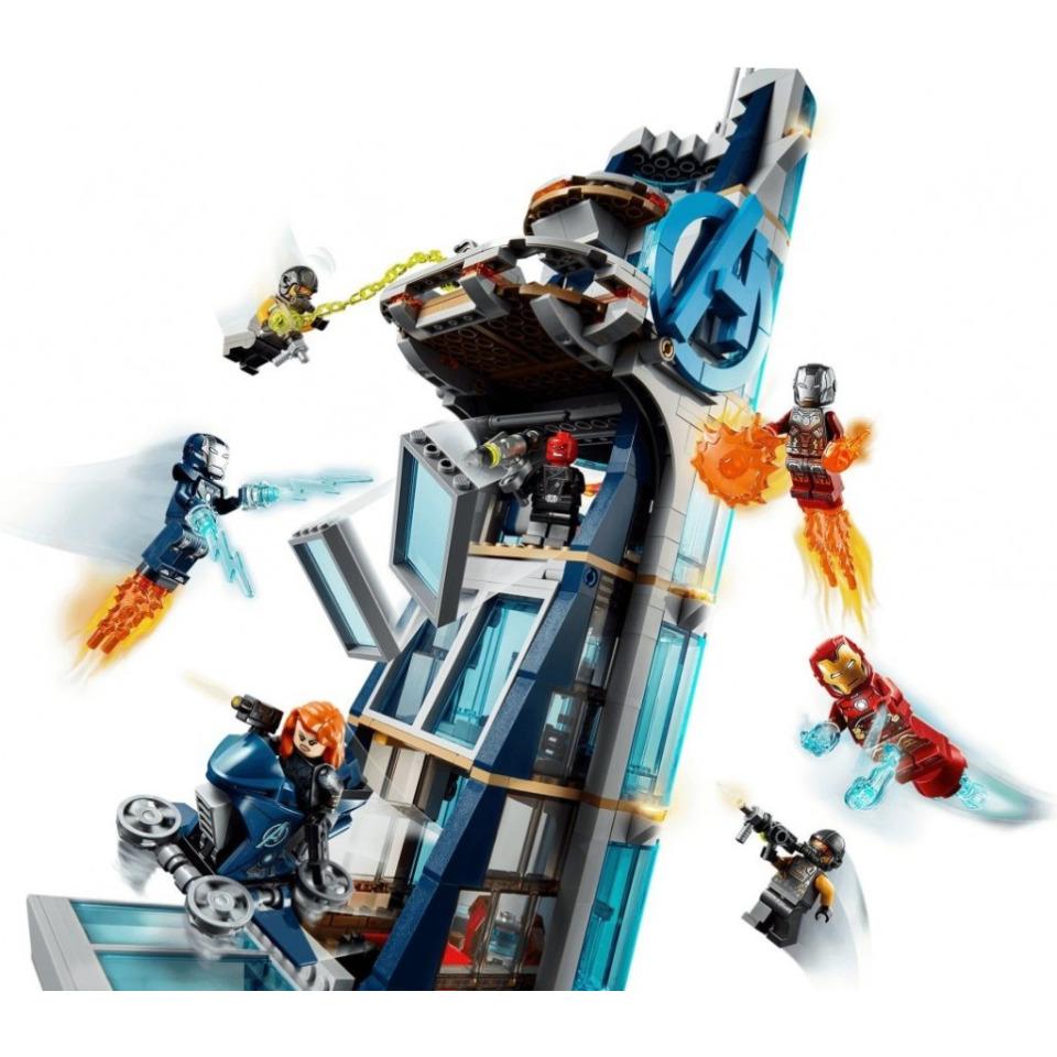 Obrázek 3 produktu LEGO SUPER HEROES 76166 Boj ve věži Avengerů