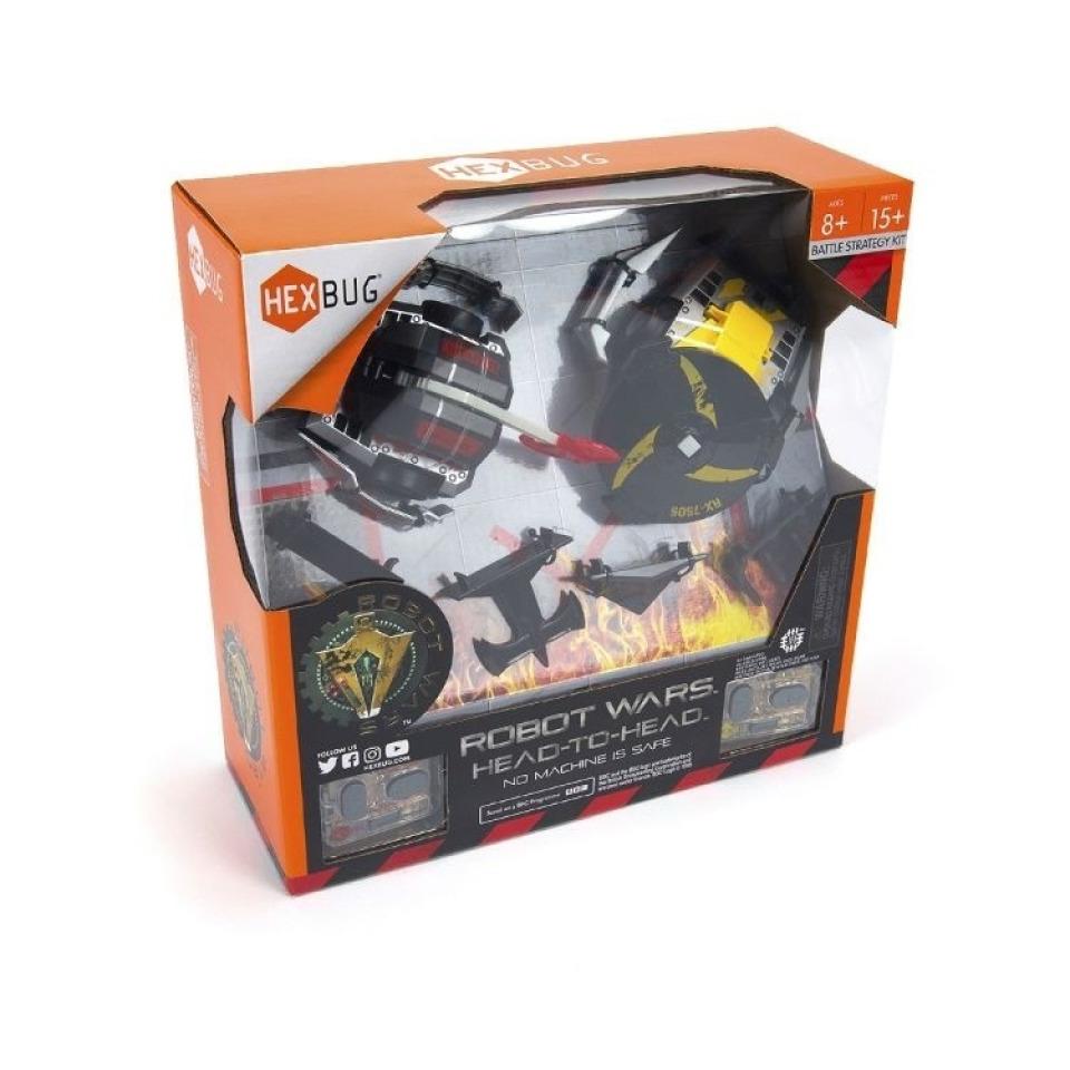 Obrázek 1 produktu HEXBUG Robot Wars Head-to-Head - set 2 ks