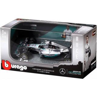Obrázek 2 produktu Burago Mercedes F1 WO7 Hybrid 1:43