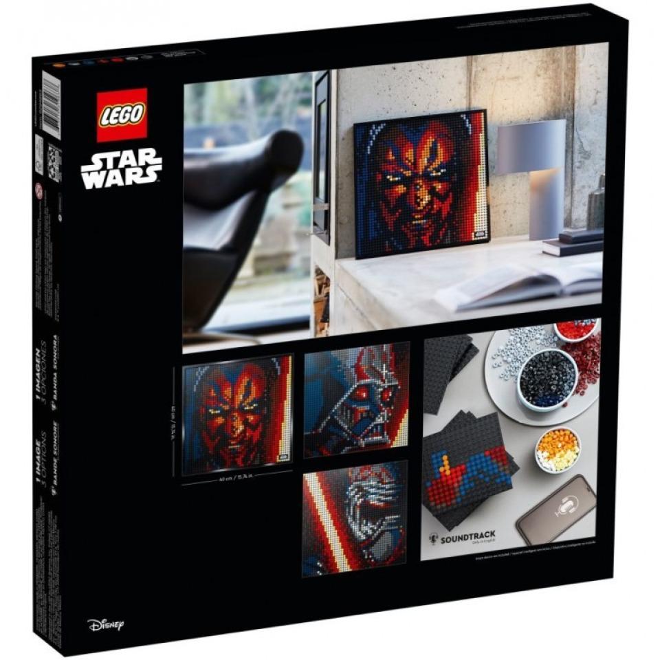 Obrázek 1 produktu LEGO Art 31200 Star Wars™ – Sith™