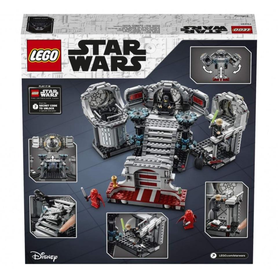 Obrázek 1 produktu LEGO Star Wars 75291 Závěrečný souboj na Hvězdě smrti