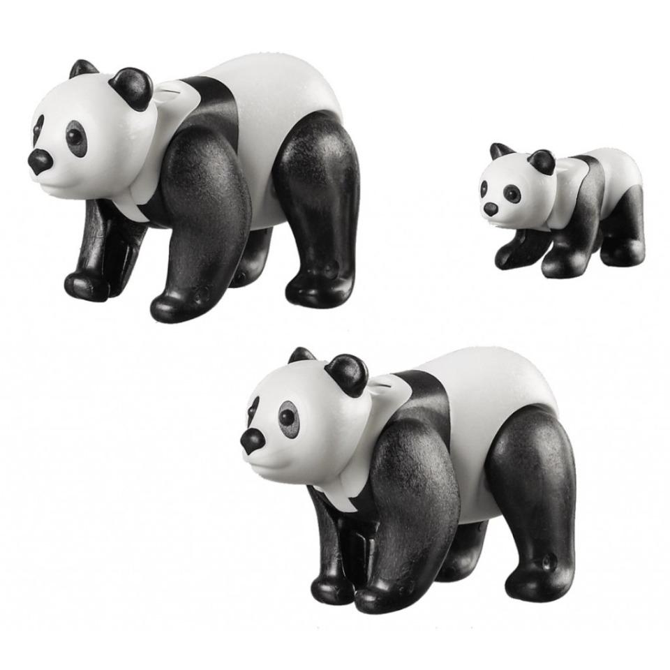 Obrázek 1 produktu Playmobil 70353 Pandy velké s mládětem