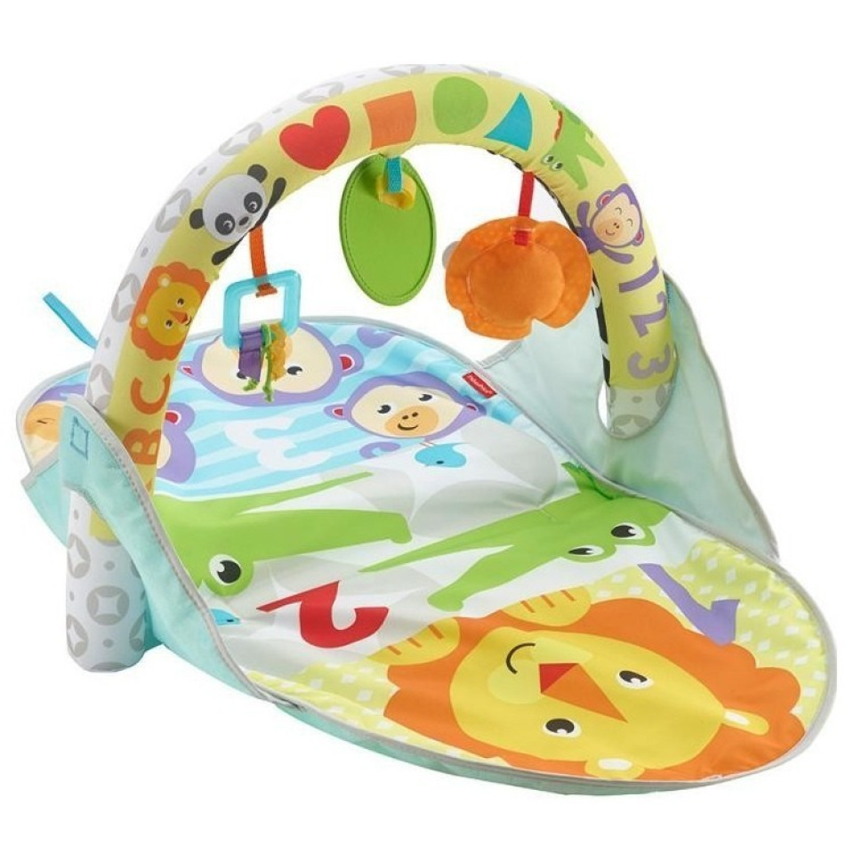 Obrázek 1 produktu Fisher Price Safari dečka pro aktivní zábavu 2v1, Mattel FXC14