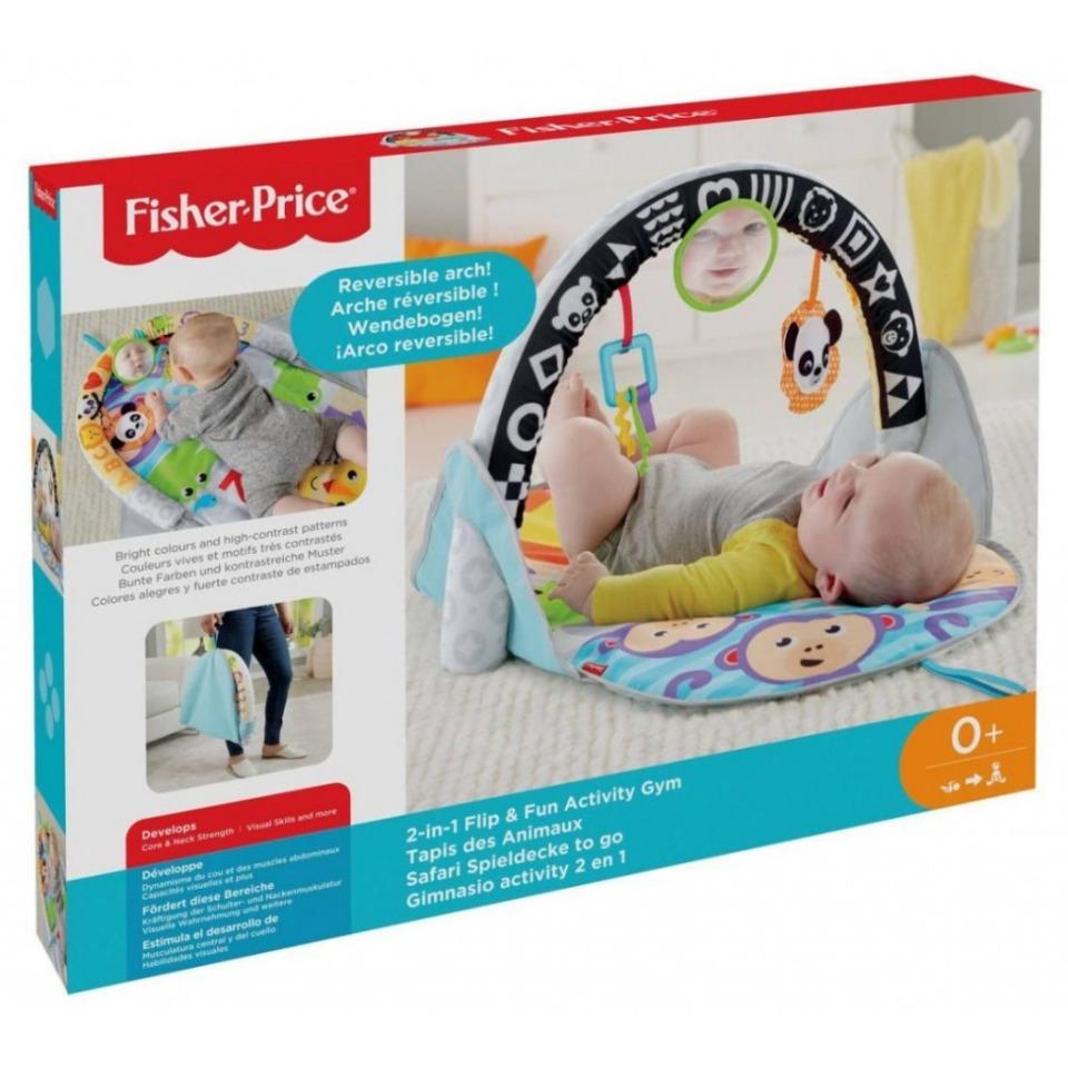 Obrázek 3 produktu Fisher Price Safari dečka pro aktivní zábavu 2v1, Mattel FXC14