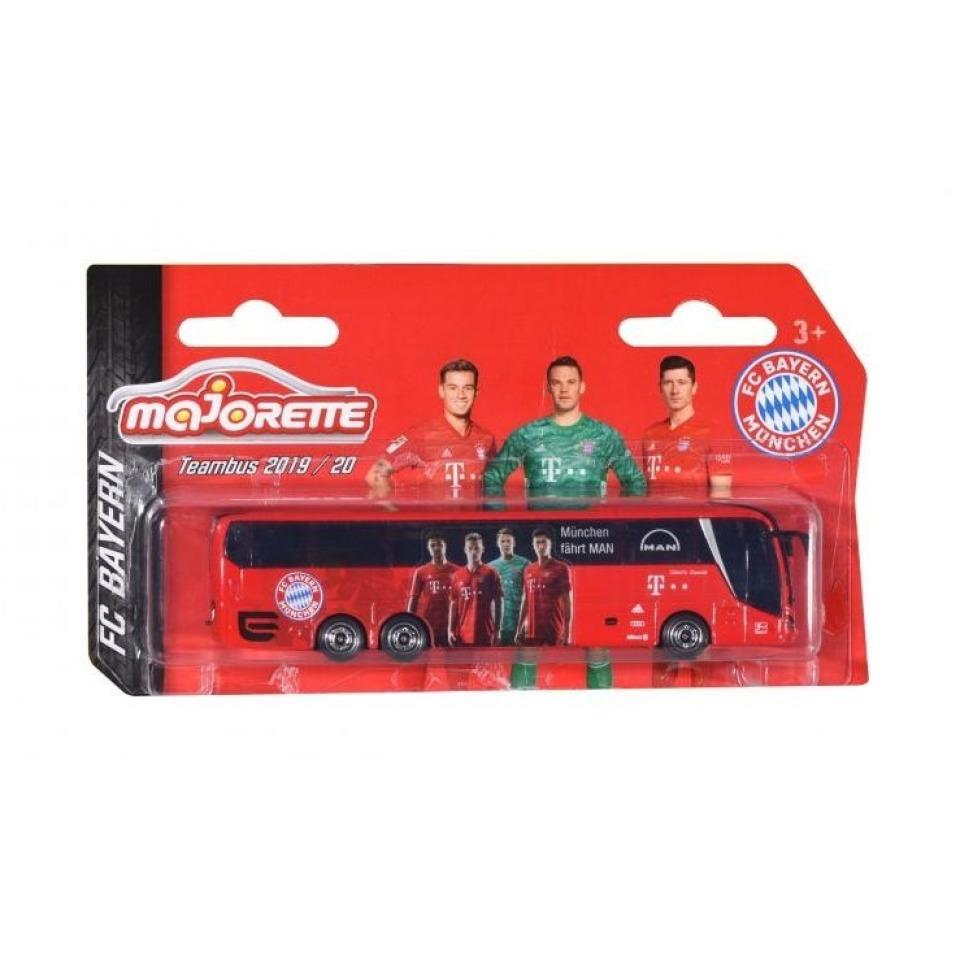 Obrázek 1 produktu Autobus MAN FC Bayern 13 cm, Majorette