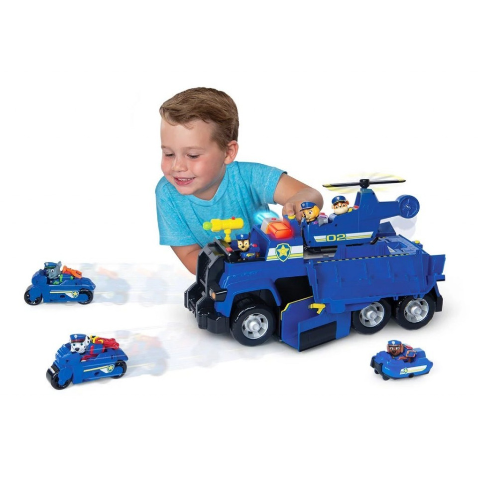 Obrázek 1 produktu Spin Master Tlapková patrola Multifunkční záchranné auto