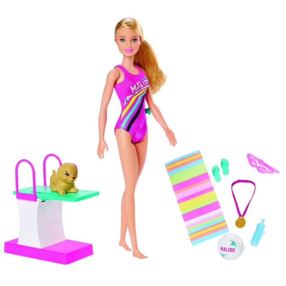 Obrázek 1 produktu Barbie Plavkyně, Mattel GHK23