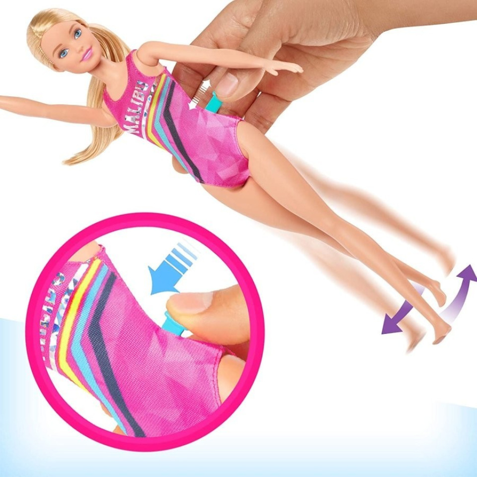 Obrázek 2 produktu Barbie Plavkyně, Mattel GHK23