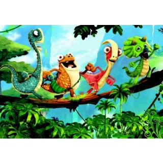 Obrázek 2 produktu Ravensburger 05125 Puzzle Gigantosaurus 2x12 dílků