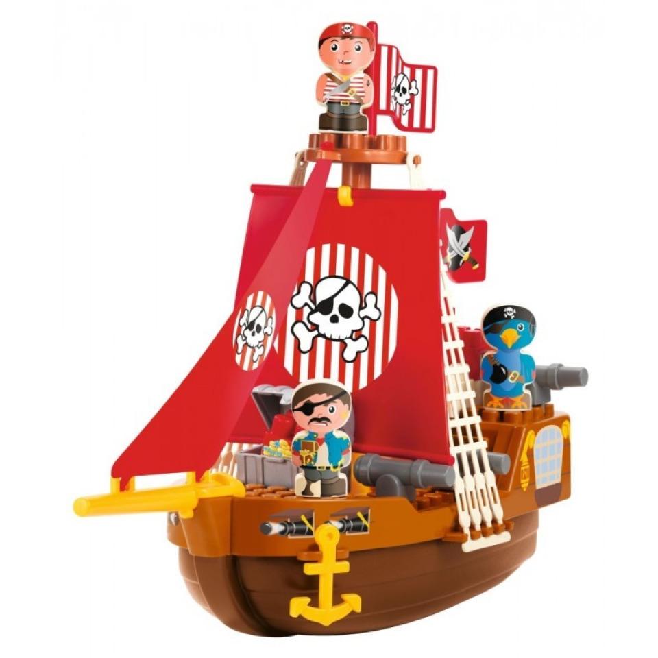 Obrázek 1 produktu Abrick Pirátská loď