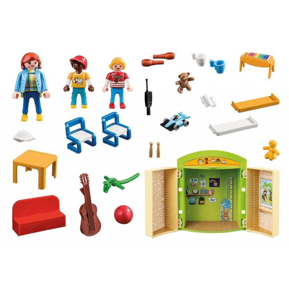 Obrázek 1 produktu Playmobil 70308 Herní box V mateřské škole