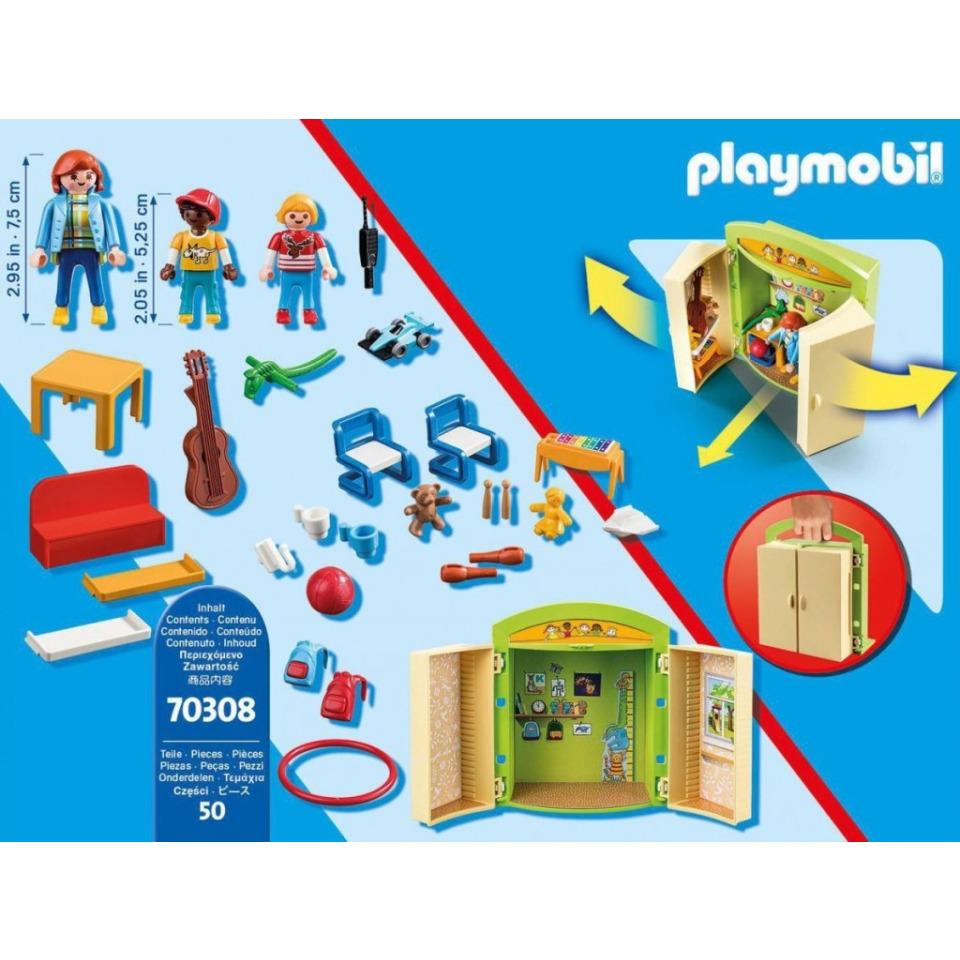 Obrázek 3 produktu Playmobil 70308 Herní box V mateřské škole