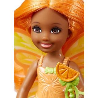 Obrázek 2 produktu Mattel Barbie Dreamtopia Víla Chelsea oranžová, DVM89
