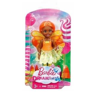 Obrázek 4 produktu Mattel Barbie Dreamtopia Víla Chelsea oranžová, DVM89