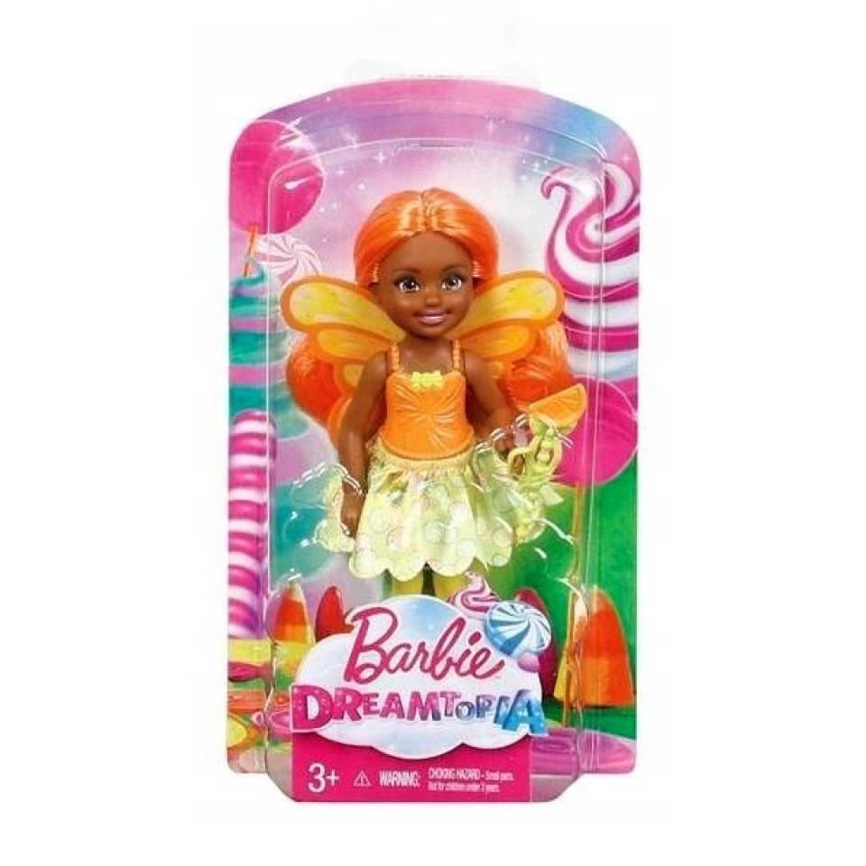 Obrázek 3 produktu Mattel Barbie Dreamtopia Víla Chelsea oranžová, DVM89