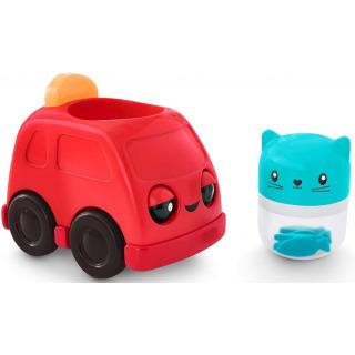 Obrázek 3 produktu Fisher Price Chrastící vozítka Červené autíčko, Mattel FNV39