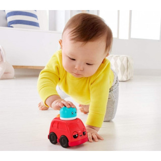 Obrázek 4 produktu Fisher Price Chrastící vozítka Červené autíčko, Mattel FNV39