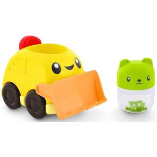 Obrázek 3 produktu Fisher Price Chrastící vozítka Žlutý bagr, Mattel FVC73