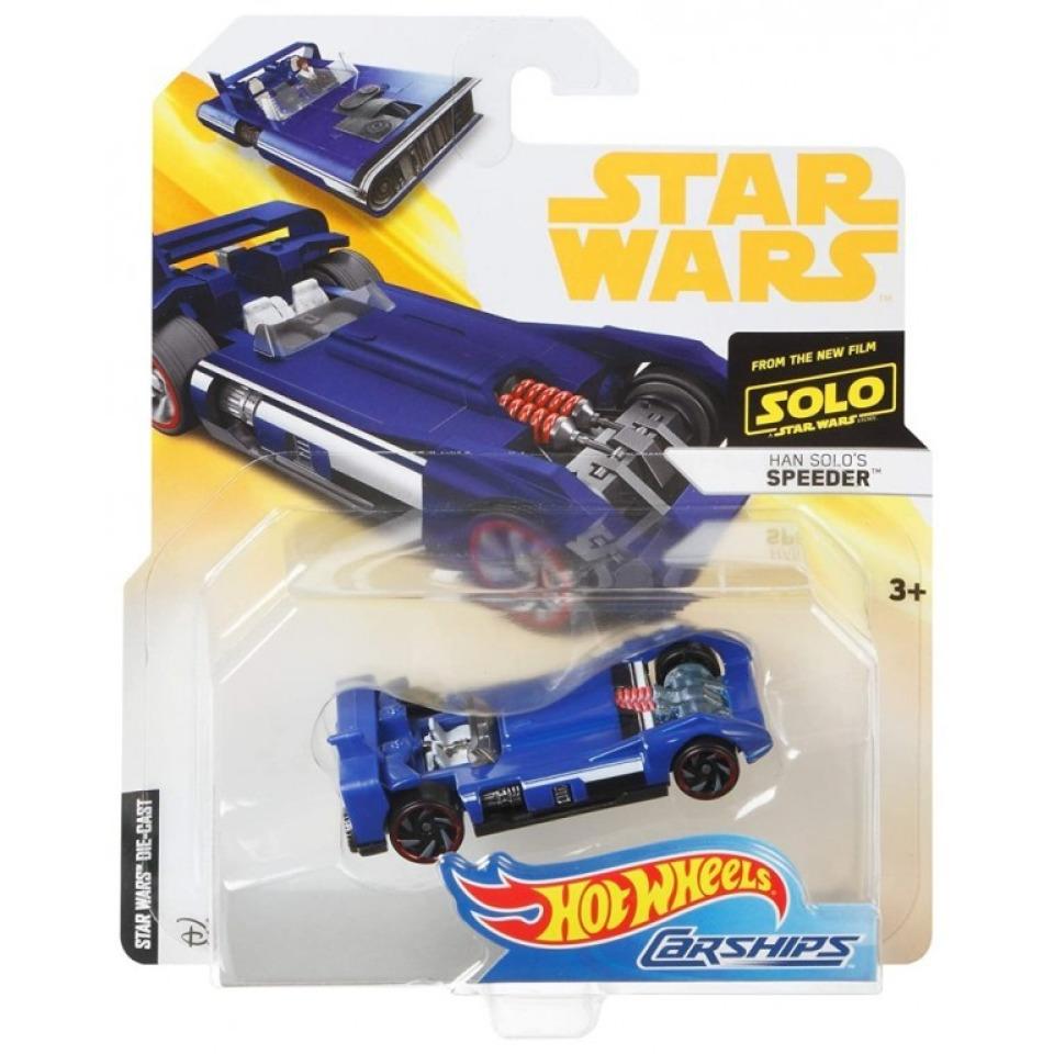 Obrázek 2 produktu Hot Wheels Star Wars Han Solo´s Speeder, Mattel FLJ77
