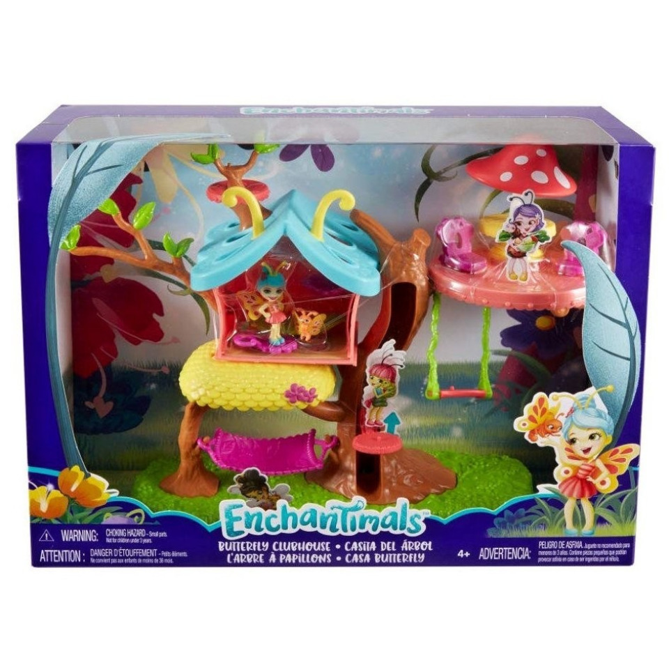 Obrázek 1 produktu ENCHANTIMALS Brouček a motýlí dům, Mattel GBX08