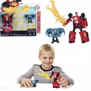 Obrázek 2 produktu Transformers Decepticon Sideswipe vs. Mini-Con Decepticon Anvil, Hasbro E4715
