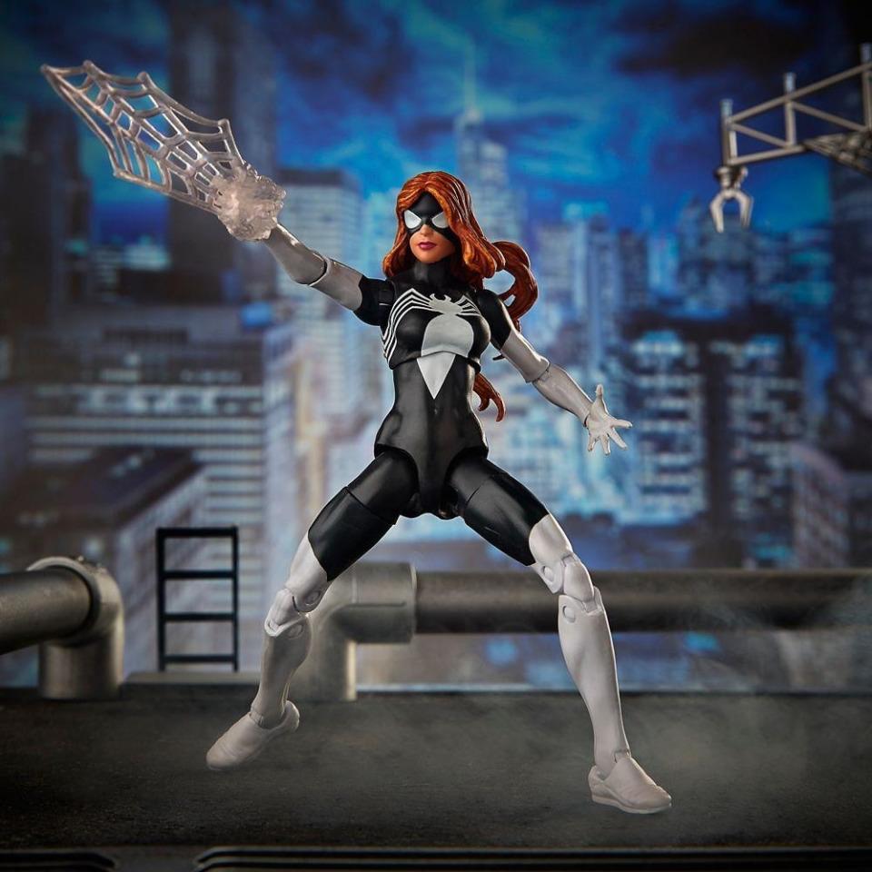Obrázek 2 produktu Spiderman Legends Series prémiová figurka Marvels Spider-Woman, Hasbro E3959