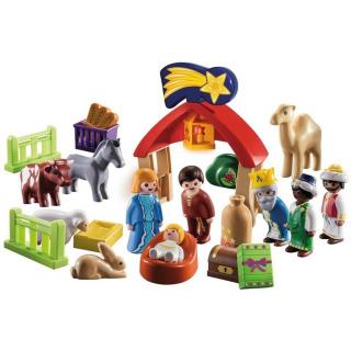 Obrázek 2 produktu Playmobil 70259 Adventní kalendář Vánoční betlém 1.2.3