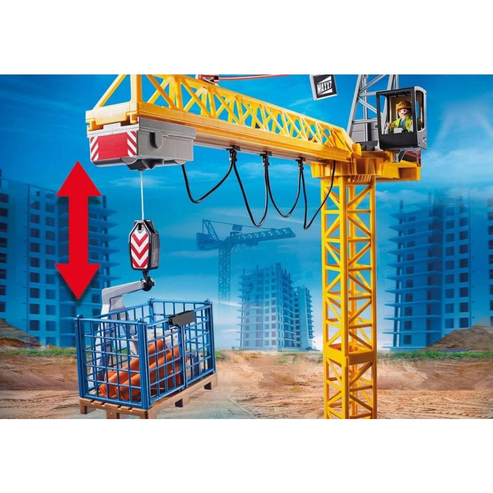 Obrázek 4 produktu Playmobil 70441 Stavební jeřáb na dálkové ovládání