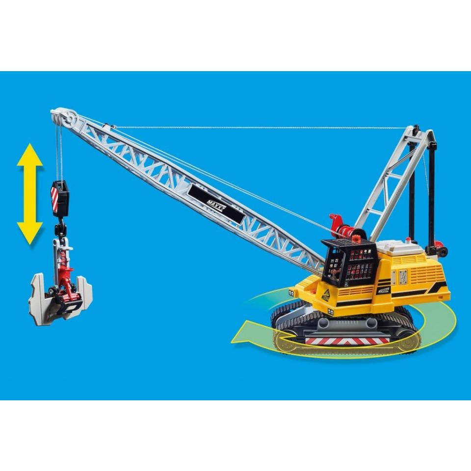 Obrázek 4 produktu Playmobil 70442 Pásový jeřáb