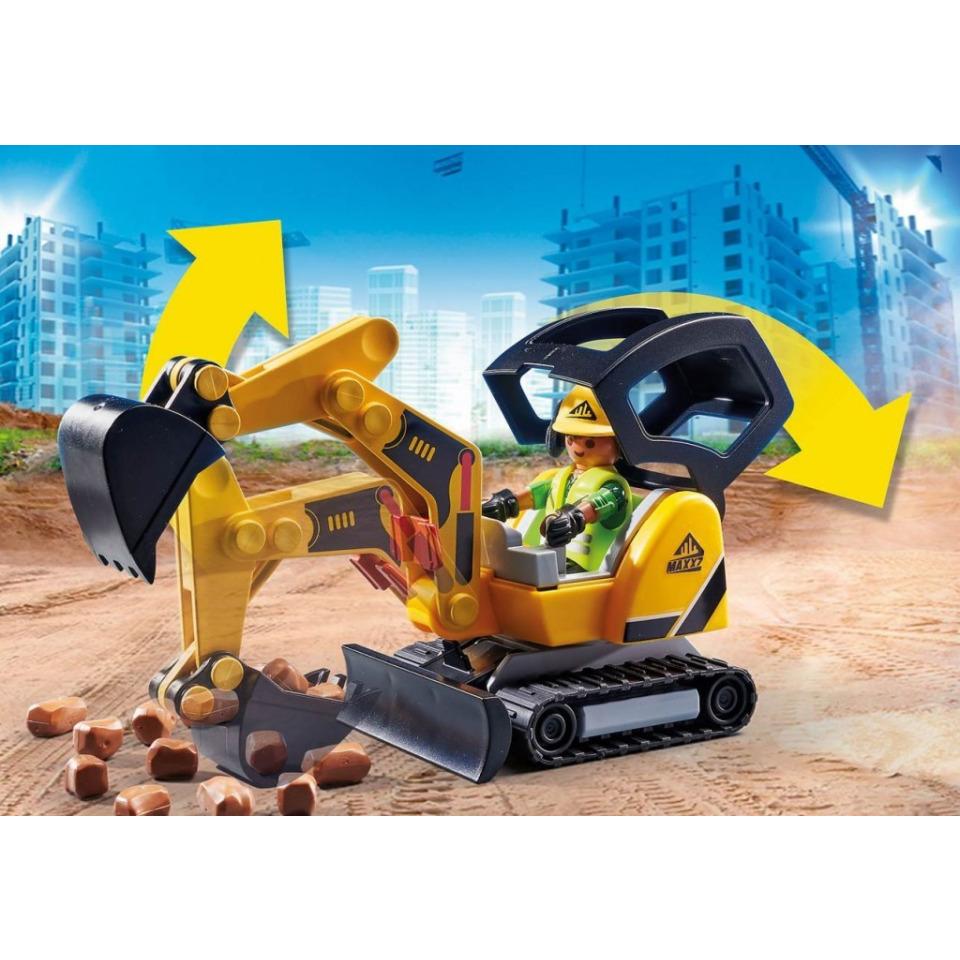 Obrázek 3 produktu Playmobil 70443 Minibagr