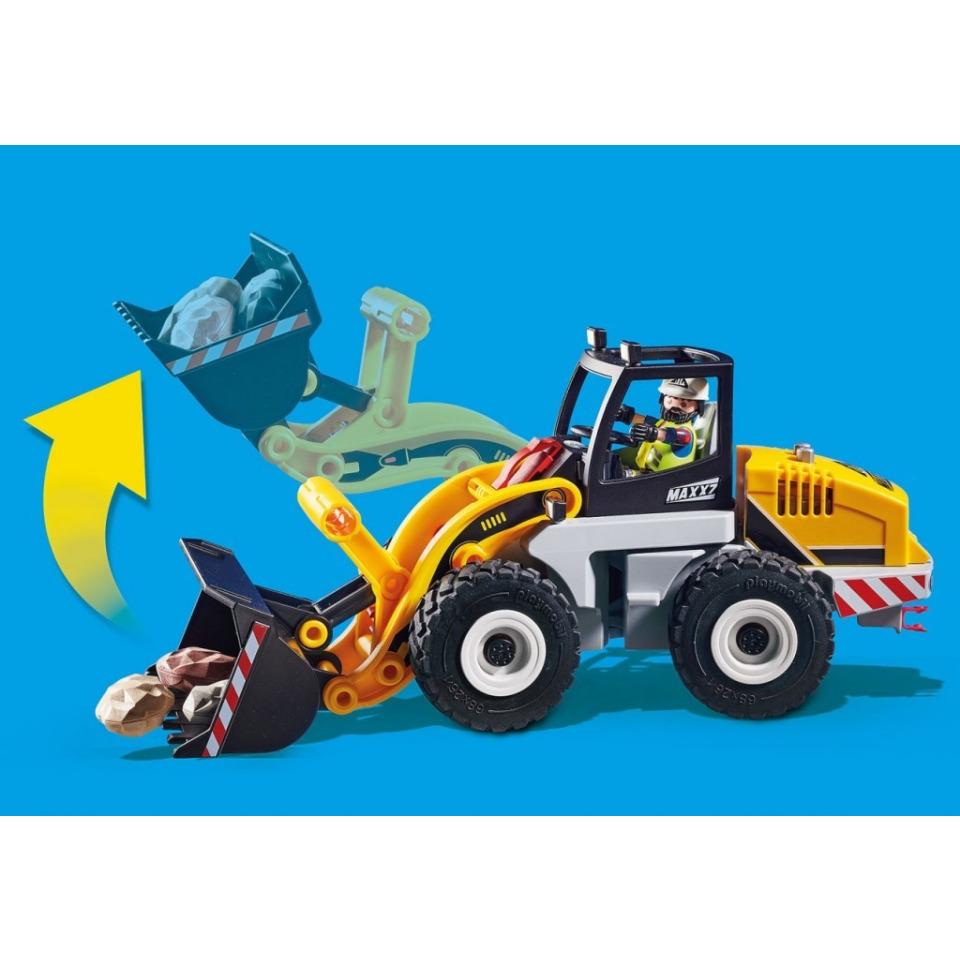 Obrázek 4 produktu Playmobil 70445 Kolový nakladač