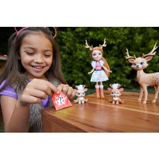 Obrázek 3 produktu ENCHANTIMALS Rodinka Rainey Reindeer s jelínky, Mattel GNP17