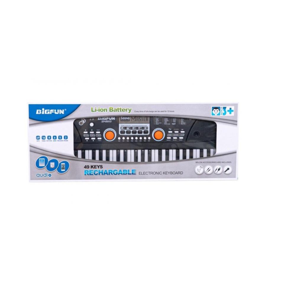 Obrázek 1 produktu Bigfun Piano s mikrofónem, 49 kláves
