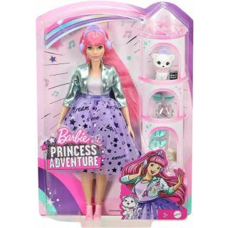 Obrázek 2 produktu Barbie Adventure Stylová princezna Daisy se sluchátky, Mattel GML77