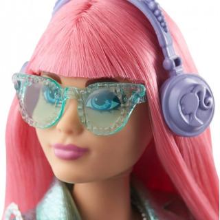 Obrázek 3 produktu Barbie Adventure Stylová princezna Daisy se sluchátky, Mattel GML77