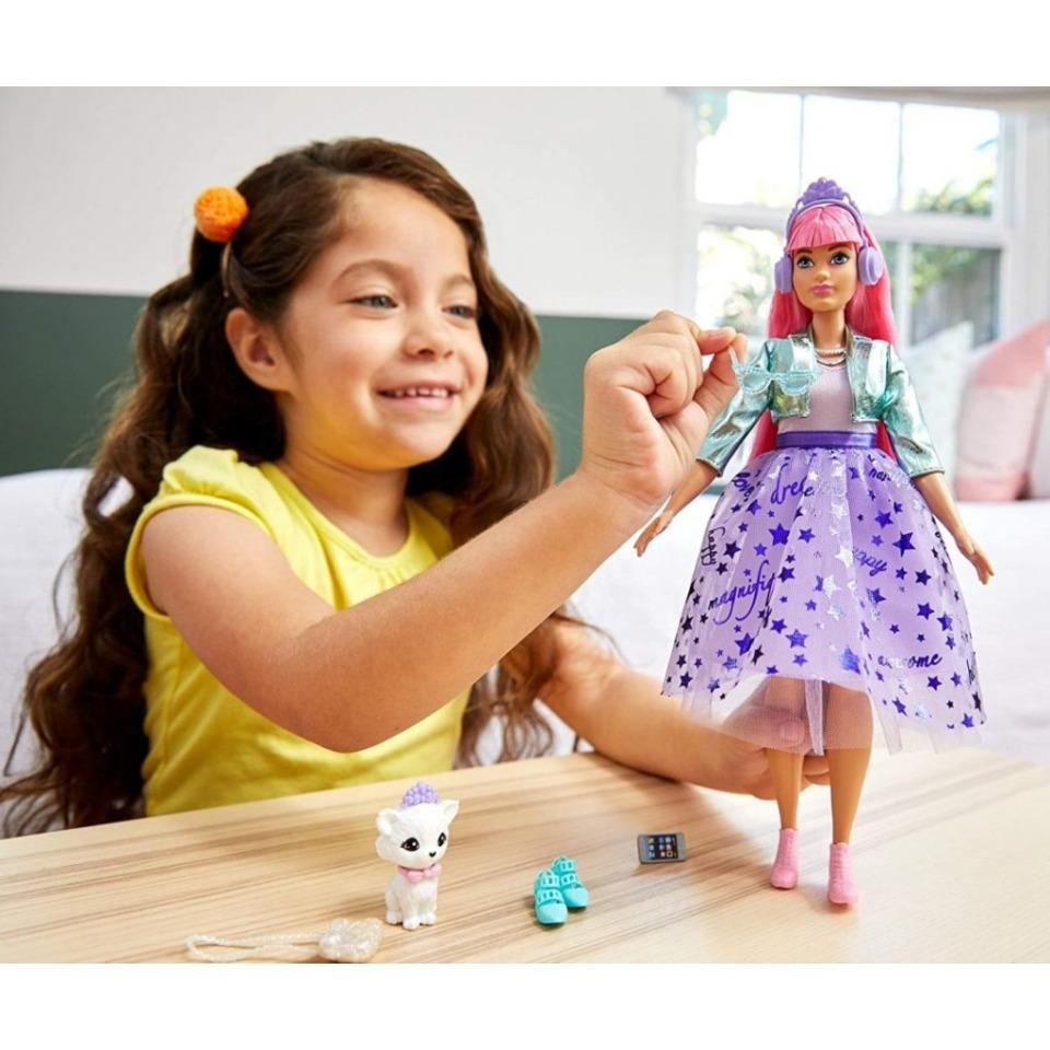 Obrázek 4 produktu Barbie Adventure Stylová princezna Daisy se sluchátky, Mattel GML77