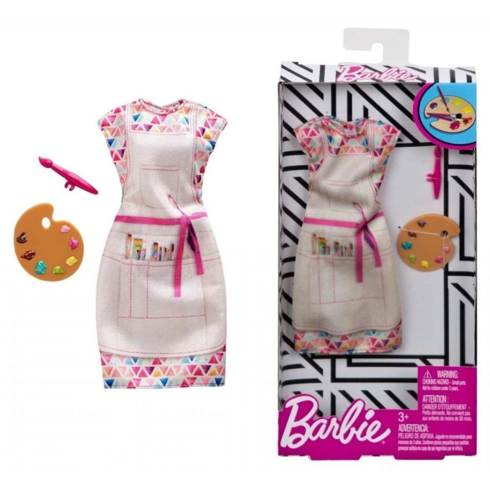 Obrázek 1 produktu Barbie profesní oblečení - Malířka, Mattel FXH98