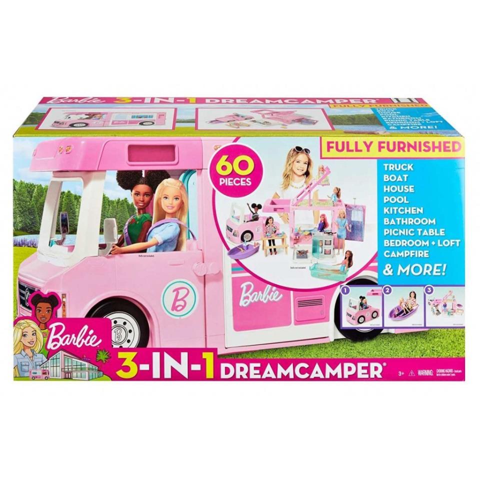 Obrázek 2 produktu Mattel Barbie Karavan snů 3v1, GHL93
