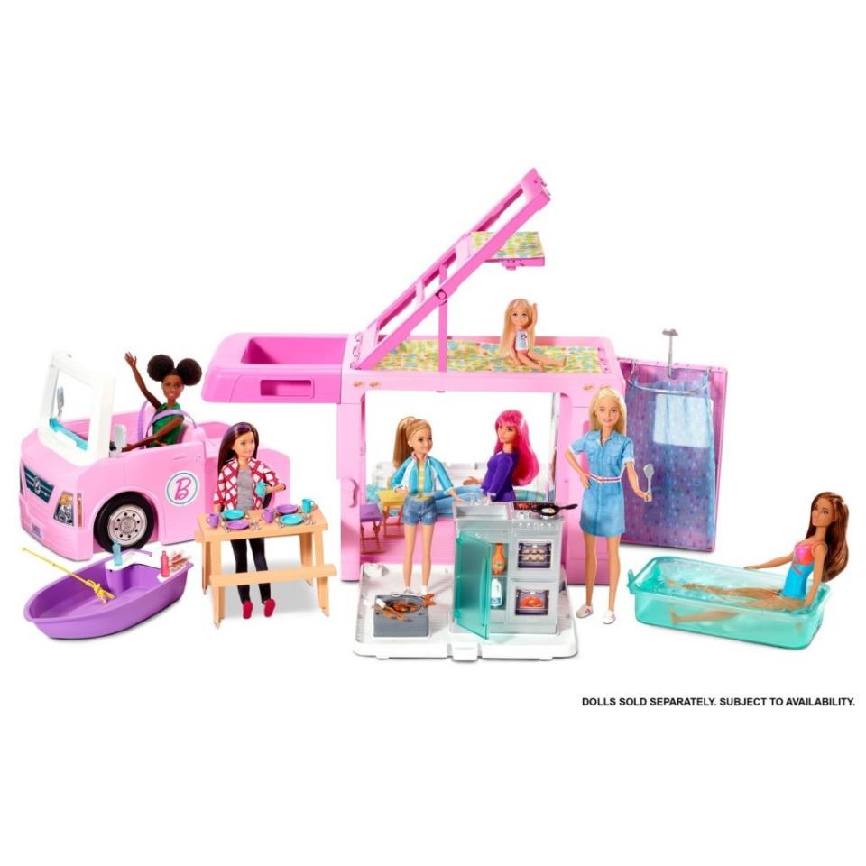 Obrázek 3 produktu Mattel Barbie Karavan snů 3v1, GHL93