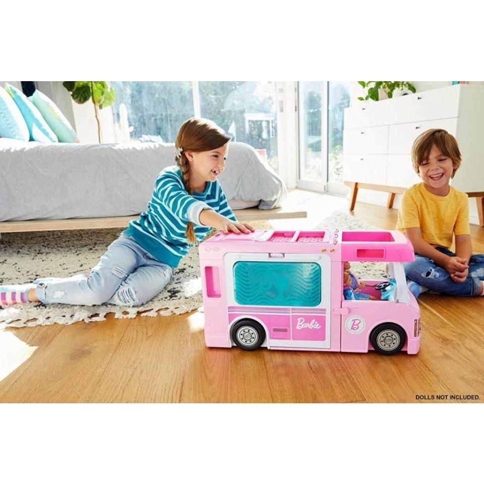Obrázek 4 produktu Mattel Barbie Karavan snů 3v1, GHL93