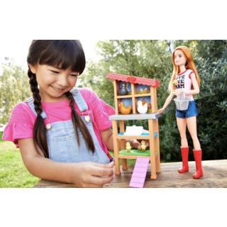 Obrázek 4 produktu Barbie Povolání herní set Chovatelka kuřat, Mattel FXP15