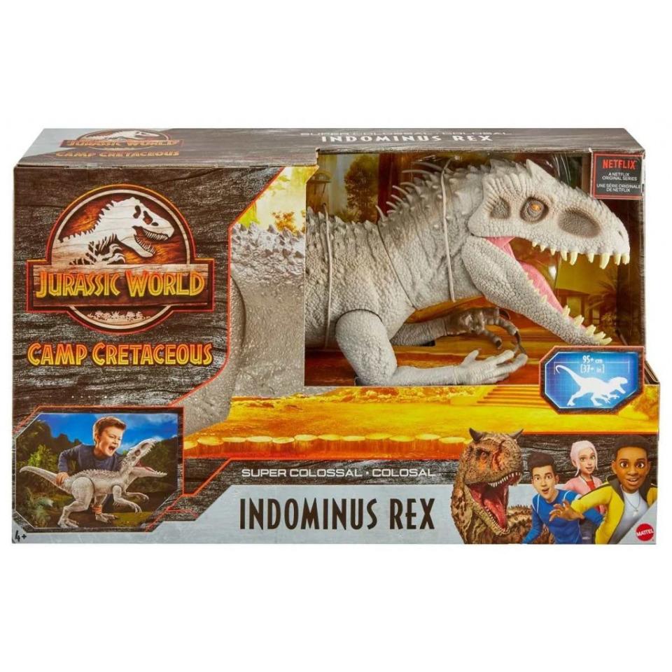 Obrázek 1 produktu Mattel Jurský svět Indominus Rex Super Colossal 95cm, GPH95