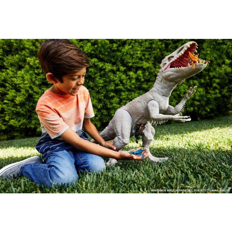 Obrázek 2 produktu Mattel Jurský svět Indominus Rex Super Colossal 95cm, GPH95